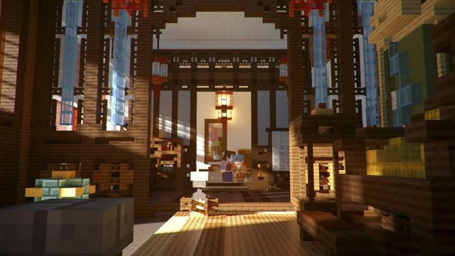 """95后用游戏打造""""虚拟故宫"""":搭桥潮流与传统文化[多图]图片4"""
