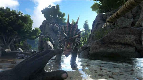 方舟生存进化手游预计春季登录双平台 游戏本体提供免费下载[多图]图片1