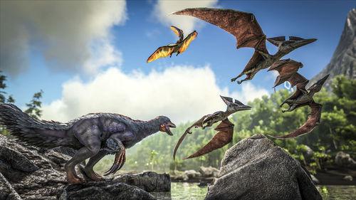 方舟生存进化手游试玩视频曝光 高度还原端游的画面和玩法[多图]图片1