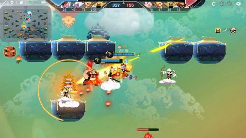 闹闹天空游戏玩法曝光 在天空中进行混战[多图]图片2