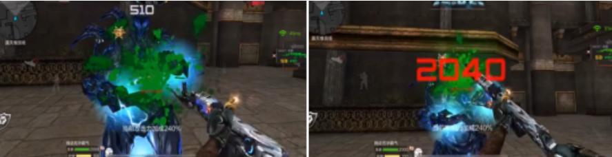 穿越火线枪战王者英雄武器刺刀伤害能打多高?新武器QBZ95天使有多厉害?[多图]图片1