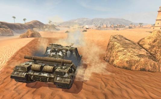 《坦克世界闪电战》20号公布最新迷你粉色皮肤,这伪装性堪忧[多图]图片2