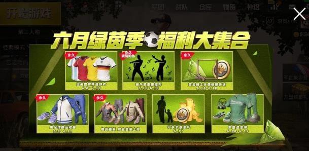 绝地求生刺激战场免费兑换永久时装:世界杯国家队T恤[多图]图片6