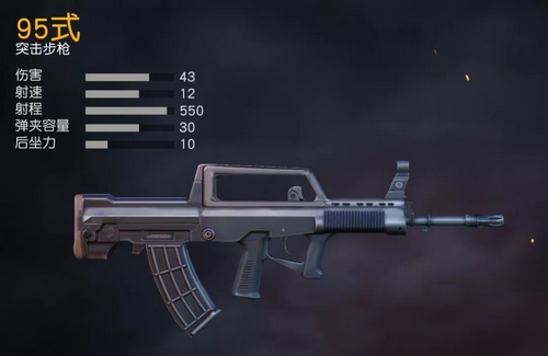 荒野行动95式步枪攻略大全,95式步枪解析[多图]
