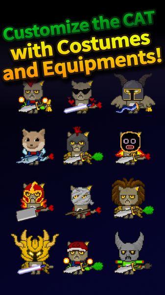 扑家猫咪之塔游戏安卓版下载(Cat Tower Idle RPG)图4: