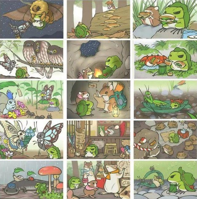 旅行青蛙照片大全,全照片获取条件一览[多图]