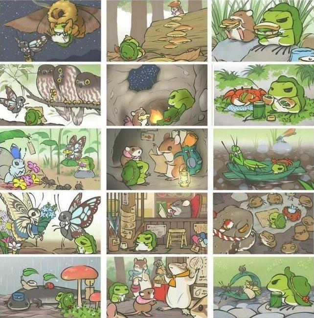 旅行青蛙照片大全,全照片获取条件一览[多图]图片2