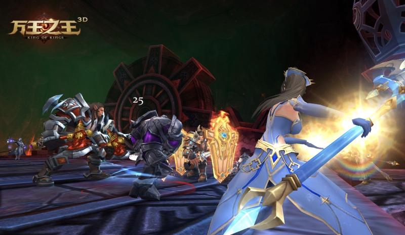 万王之王3D也玩黑科技?新版公会科技等你撩![多图]
