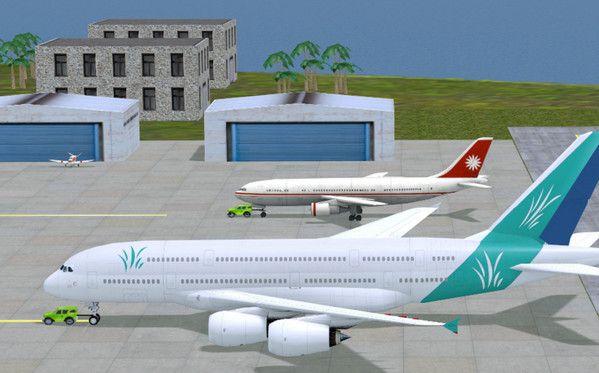 疯狂机场3d内购版图3