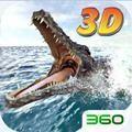 3D模拟饥饿鳄鱼游戏
