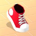 抖音鞋子屹立不倒运动游戏