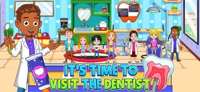 我的小镇牙医访问免费游戏安卓版(My City Dentist Visit)图4: