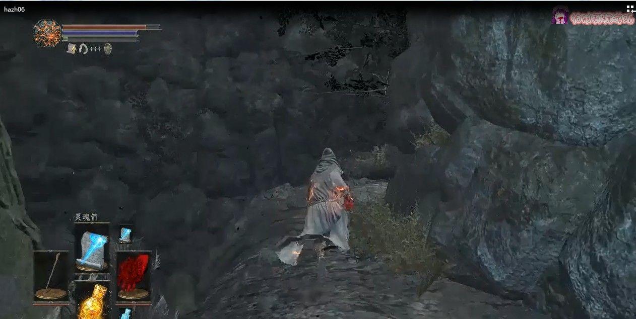 黑暗之魂3法师开局06:与结晶老者的魔法对决,魔法连续殴打[多图]图片2