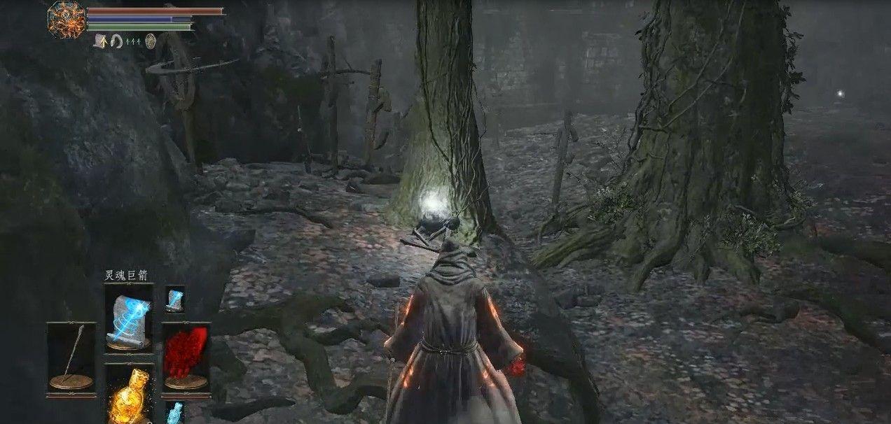 黑暗之魂3法师开局07:磔罚森林道具收集,大战螃蟹薪王[多图]图片3