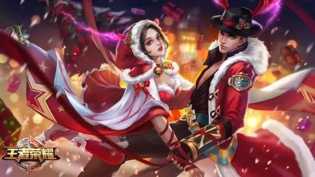 王者荣耀:圣诞节4大活动来袭 吕布貂蝉圣诞专属动作上线[多图]图片1