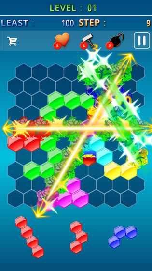 Hexa Gem Crush游戏安卓版图2: