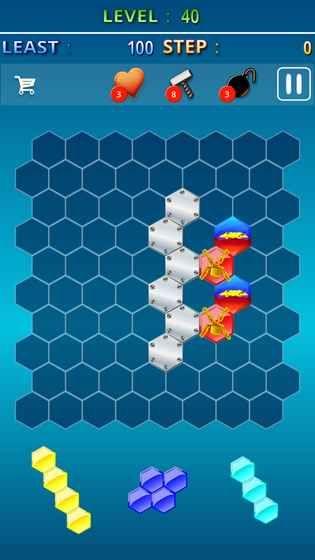 Hexa Gem Crush游戏安卓版图1: