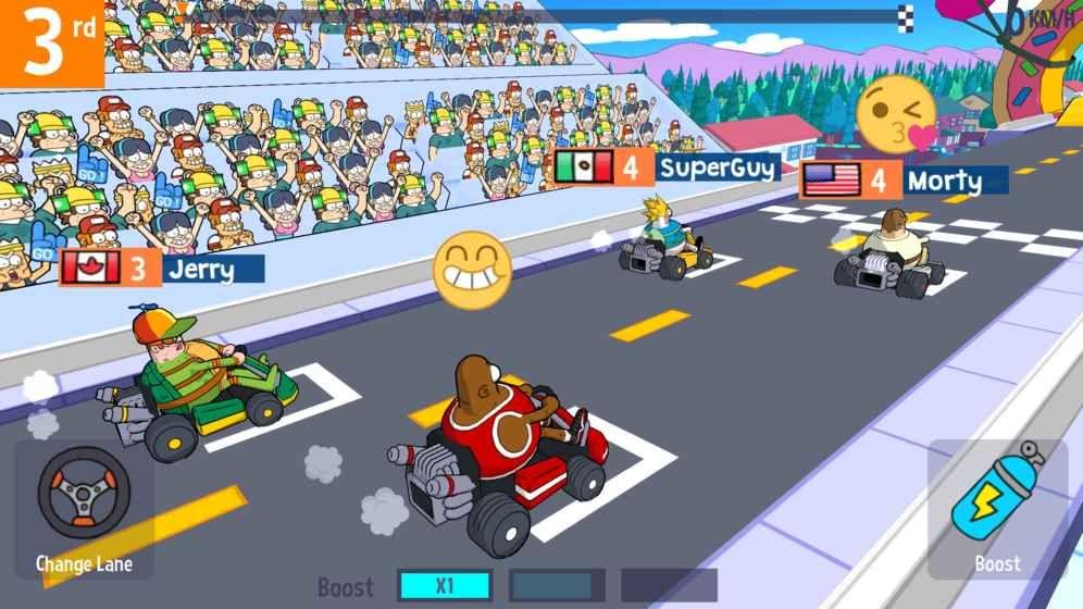 撸啊撸卡丁车官方最新版游戏下载(LoL Karts)图4: