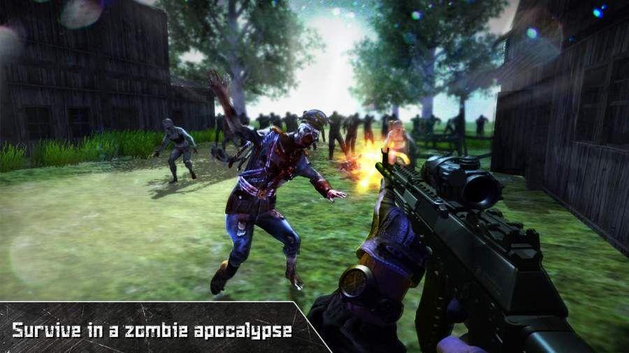 最后死亡之日僵尸狙击手安卓版图1