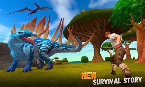 侏罗纪生存岛求生3D安卓游戏最新版官方下载(ARK 2)图4: