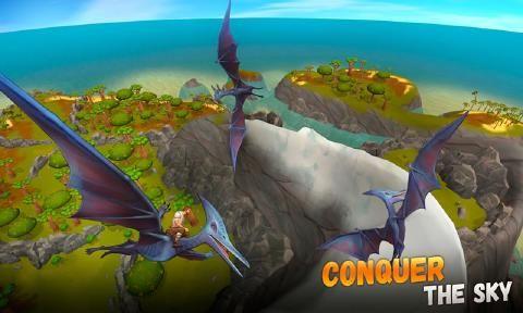 侏罗纪生存岛求生3D安卓游戏最新版官方下载(ARK 2)图5: