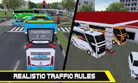 移动巴士模拟游戏官方网站下载安卓版(Mobile Bus Simulator)图4: