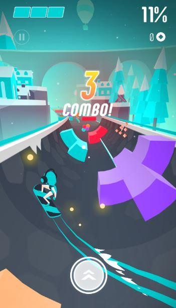 滑板色彩冲浪游戏评测:喜欢阿托尔的冒险或者直线滑板的可别错过![多图]图片4