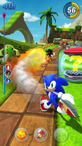 索尼克力量超速战斗手机游戏最新版图1: