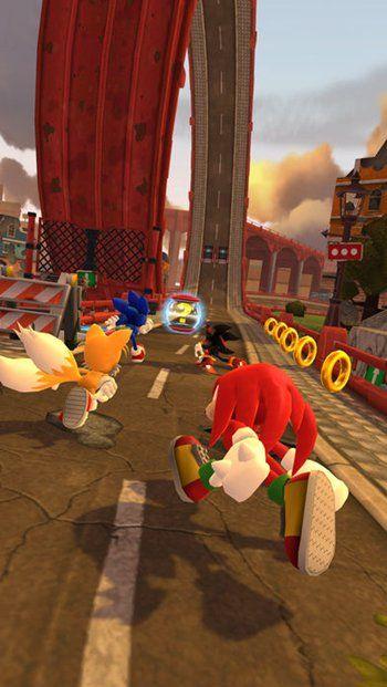 索尼克力量超速战斗手机游戏最新版图3: