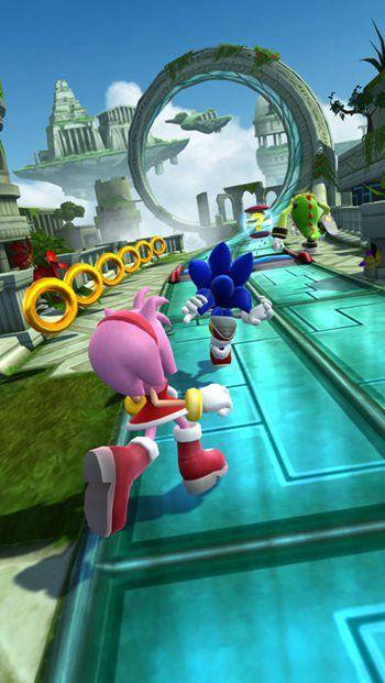 索尼克力量超速战斗手机游戏最新版图2:
