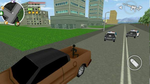 火柴人GTA5安卓官方版游戏图2: