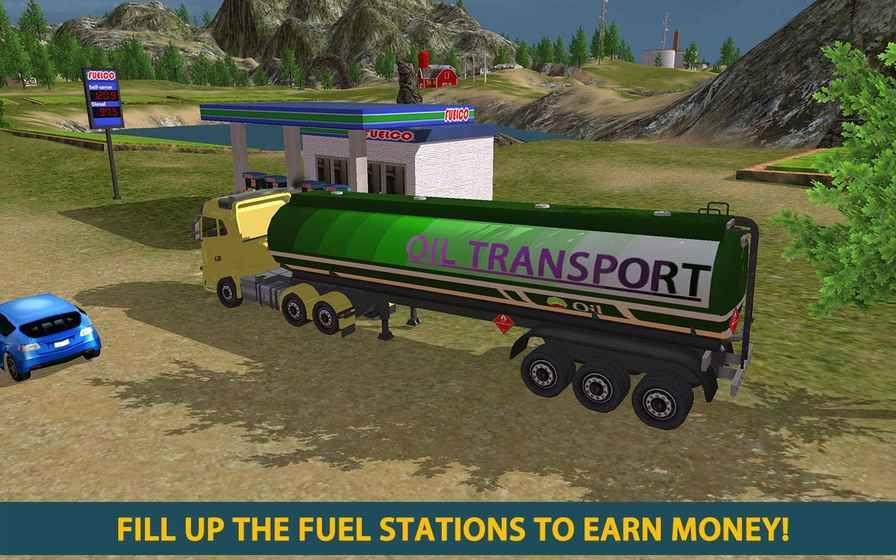 油轮运输司机卡安卓官方版游戏下载图1: