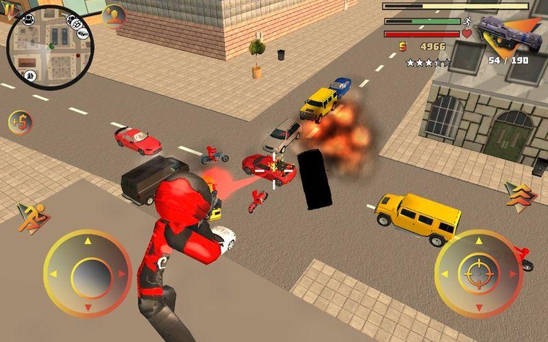 火柴人绳索英雄2手机游戏最新版下载图1: