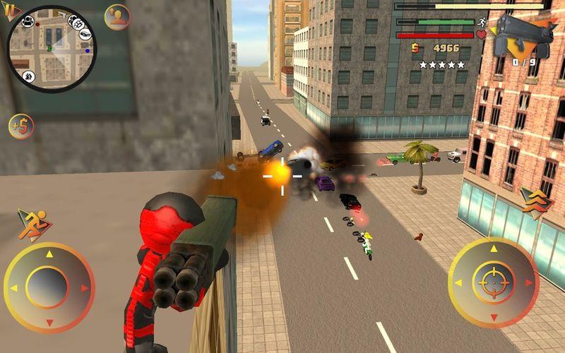 火柴人绳索英雄2手机游戏最新版下载图3:
