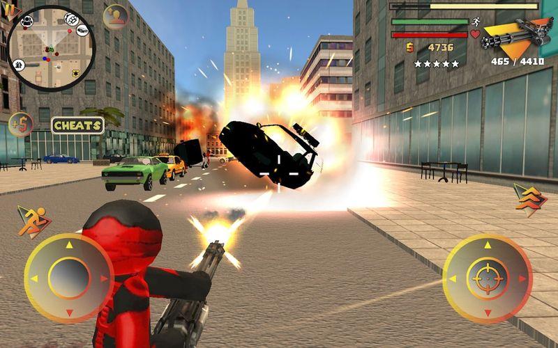 火柴人绳索英雄2手机游戏最新版下载图4: