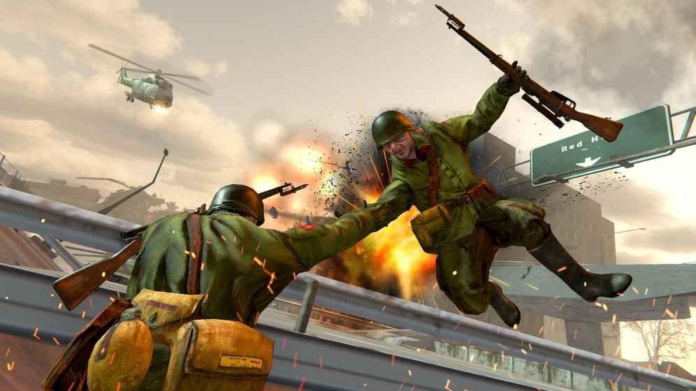 美国陆军内战战场的生存呼唤手机游戏最新正版下载图1: