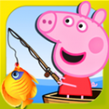 小猪佩奇钓鱼游戏