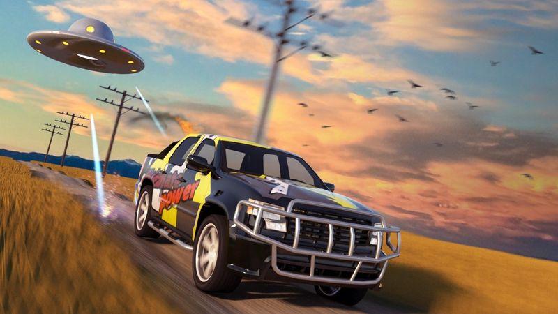 粉碎汽车革命破解版手机游戏最新版下载图1: