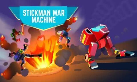 火柴人的战争机器手机版下载中文正式版(Stickman War Machine)图5: