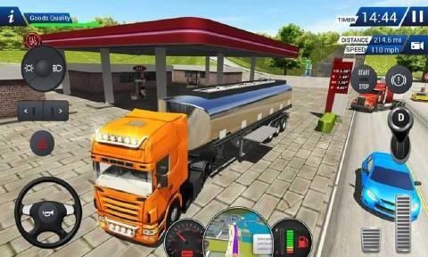 欧洲卡车模拟2018中文游戏无限金币版下载图5: