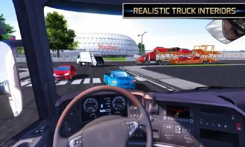 欧洲卡车模拟2018中文游戏无限金币版下载图2: