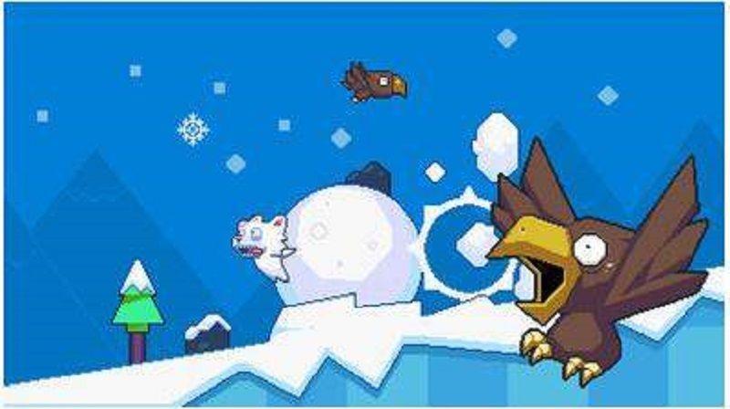 笨熊滚雪球安卓官方版游戏下载图1: