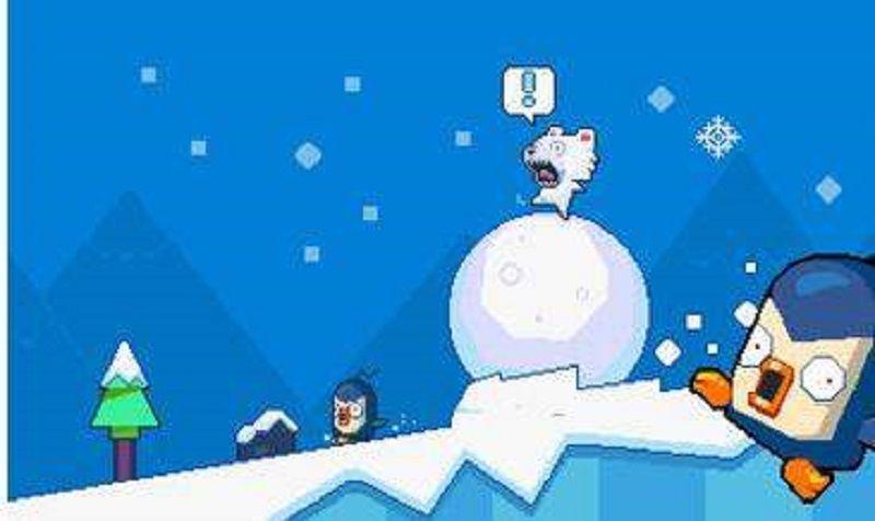 笨熊滚雪球安卓官方版游戏下载图2: