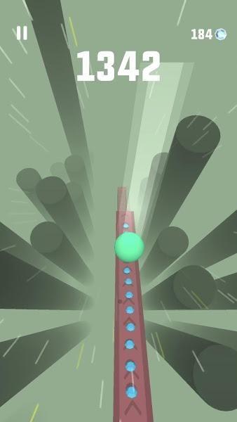 天际跳跃无限金币中文版游戏下载(Sky Ball)图1: