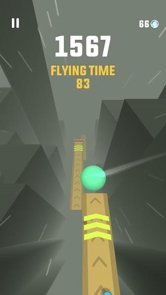 天际跳跃无限金币中文版游戏下载(Sky Ball)图2: