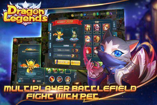 梦幻龙域手机游戏安卓正版下载(Dragon Legends)图2: