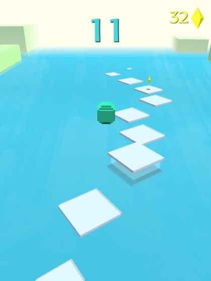 抖音小球跳一跳手机游戏最新版(Jump Forever)图3: