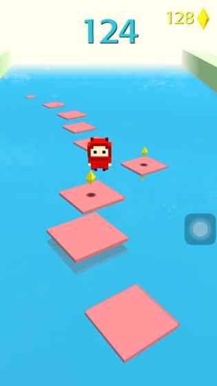 抖音小球跳一跳手机游戏最新版(Jump Forever)图5: