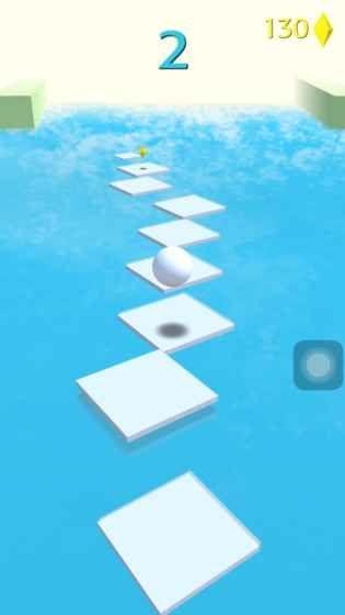 抖音小球跳一跳手机游戏最新版(Jump Forever)图1: