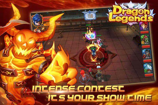 梦幻龙域手机游戏安卓正版下载(Dragon Legends)图1: